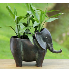 Elephant Planter | 34403 | SPI Home