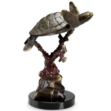 "Sea Turtle Sculpture ""Swimmer Supreme"" 