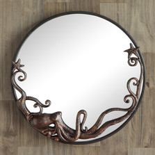 Octopus Round Wall Mirror | 51010 | SPI Home