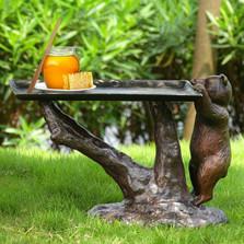 Bear End Table | 34425 | SPI Home