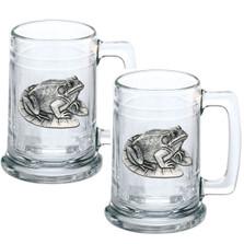 Frog Beer Stein Set of 2 | Heritage Pewter | HPIST4114