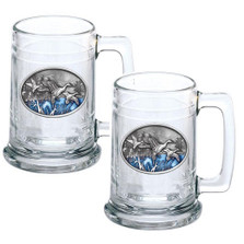 Pintail Duck Beer Stein Set of 2 | Heritage Pewter | HPIST125EB