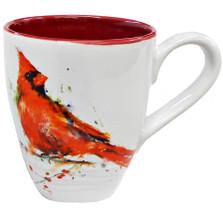 Cardinal Stoneware Mug | Big Sky Carvers | B5050123