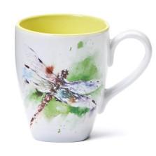 Dragonfly Stoneware Mug | Big Sky Carvers | 3005050301