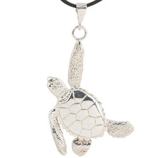 Sea Turtle Sterling Silver Pendant Necklace | Cavin Richie Jewelry | KS90PEND