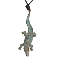 Alligator Pendant Necklace | Cavin Richie Jewelry | KB150PEND