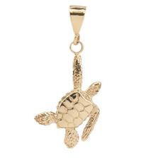 Sea Turtle 14K Gold Pendant | Cavin Richie Jewelry | KGN23LGLD