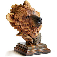 "Brown Bear Sculpture ""Timberline"" 