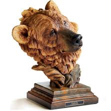 "Brown Bear Sculpture ""Timberline"" | Mill Creek Studios | 6567443675"