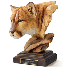 "Cougar Sculpture ""Canyon Watch"" 