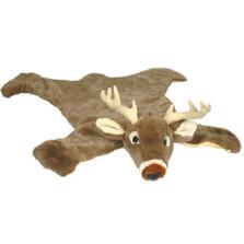 White Tail Deer Large Plush Rug | Carstens | LDR200