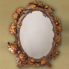 Acorn Mirror | Manual Woodworkers | RMKLAM