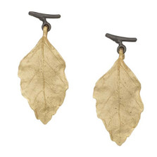 Autumn Birch Post Earrings | Michael Michaud Jewelry | 3170GMG