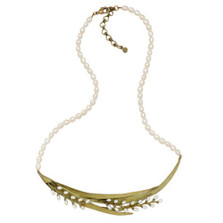 Rice Adjustable Pearl Necklace | Michael Michaud Jewelry | 9062BZWP