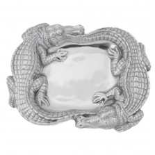 Alligator Catch All Tray | Arthur Court Designs | ACD104102