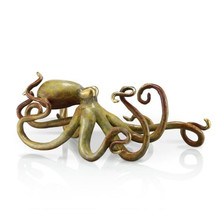 Octopus Tan Sculpture | 80216 | SPI Home