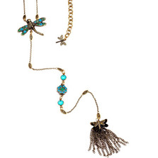 Dragonfly Y Necklace  | La Contessa Jewelry | Mary DeMarco | NK2
