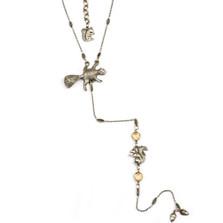 Squirrel Y Necklace  | La Contessa Jewelry | Mary DeMarco | NK9441A