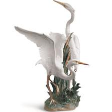 Herons Porcelain Figurine
