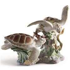 Sea Turtles Porcelain Figurine | Lladro | 1006953