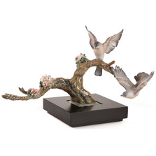 Forest Song Bird Porcelain Figurine | Lladro | 1008315