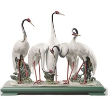 Flock Of Cranes Porcelain Figurine | Lladro | 1008697