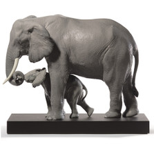"Elephant Porcelain Figurine ""Leading the Way"" 