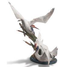 Cranes Porcelain Figurine | Lladro | 1001456