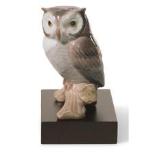 Lucky Owl Porcelain Figurine | Lladro | 1008035