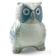 Grey Owl Porcelain Figurine | Lladro | 1012532