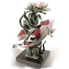 Koi Fish Porcelain Figurine | Lladro | LLA01001959