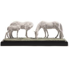 Horses in the Meadow Porcelain Figurine | Lladro | LLA01008699