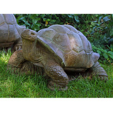 Turtle Outdoor Concrete Garden Statue | Stonecasters | HES2643