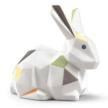 Origami Rabbit Porcelain Figurine | Lladro | LLA01009264