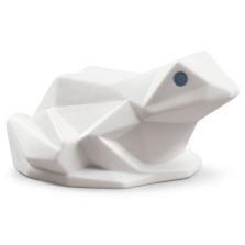 Origami Frog Matte White Porcelain Figurine | Lladro | LLA01009271