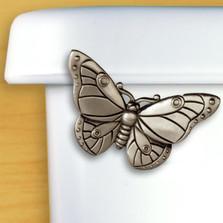 Butterfly Toilet Flush Handle | Functional Fine Art