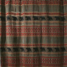 Bear Country Shower Curtain | Carstens  | JB4006