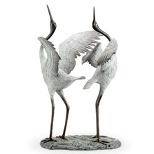 "Crane Garden Sculpture ""Good Fortune"" 