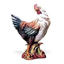 Hen Ceramic Sculpture Colored | Intrada Italy | CAM9090