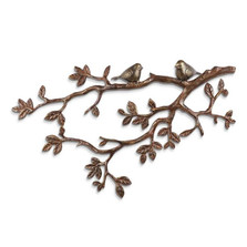 Little Lovebirds on Branch Wall Plaque | 34037 | SPI Home