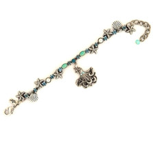 Octopus Single Strand Charm Bracelet | La Contessa Jewelry | BR9172BG-oct