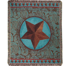 Western Star Tapestry Throw Blanket | Manual Woodworkers | ATWSRD