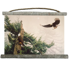 "Eagles Canvas Wall Hanging ""New Generation"" 