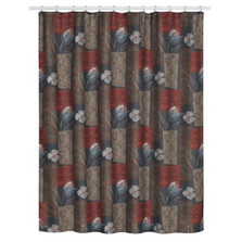 Borneo Floral Shower Curtain | S1218MULT | Creative Bath