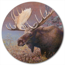 "Moose Lazy Susan ""Chocolate Moose"" 