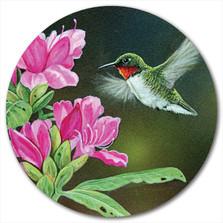 "Hummingbird Lazy Susan ""Opening Day Hummy"" 