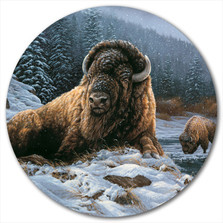 "Buffalo Lazy Susan ""Spirit of the Wild"" 