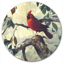 Cardinal Lazy Susan | Wood Graphixs | LSSNC