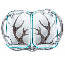 Antler Casserole Holder 2 Qt | Arthur Court Designs | 103912