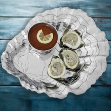 Oyster Pearl Chip and Dip | Arthur Court Designs | 104156